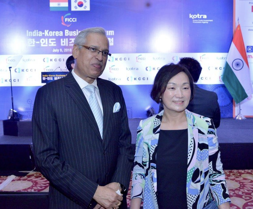Han Moo Kyung, Chairperson, Korean Women Entrepreneurs Association - India Korea Business Forum