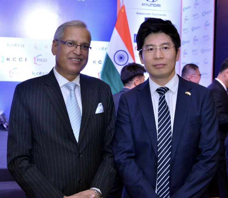 Jeong Deok-min, Honorary Consul General of India to Republic of Korea - India Korea Business Forum